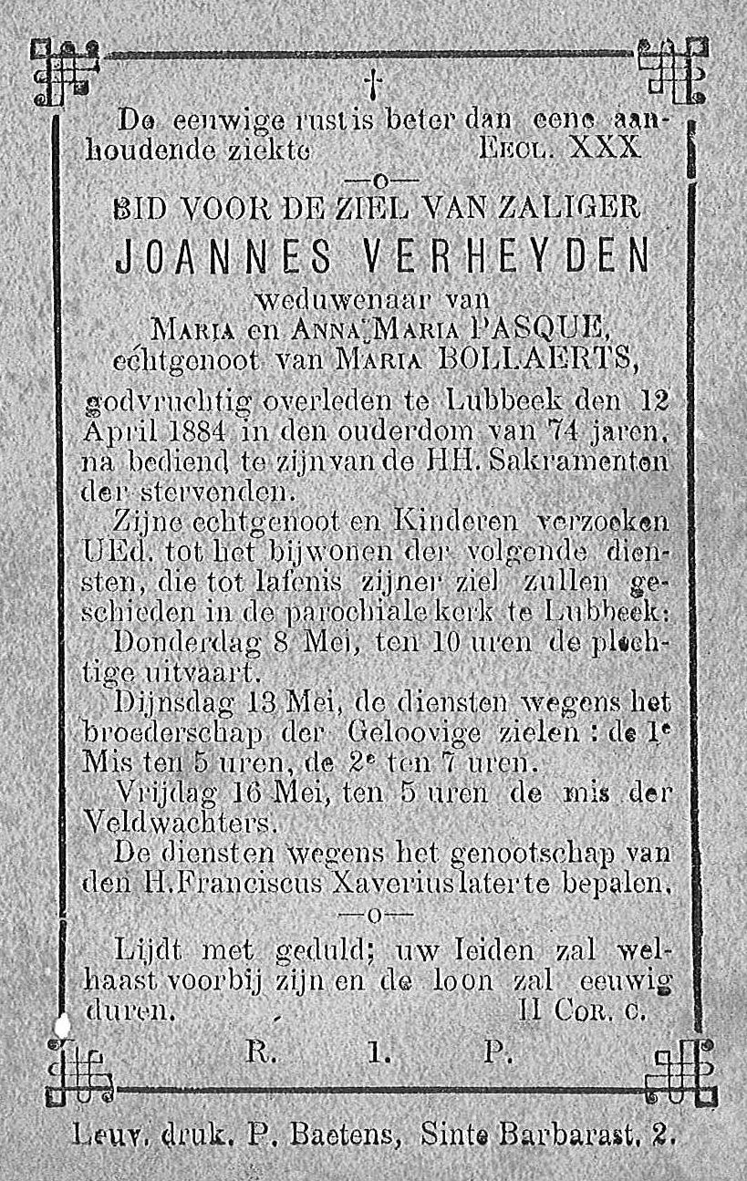 Joannes Verheyden
