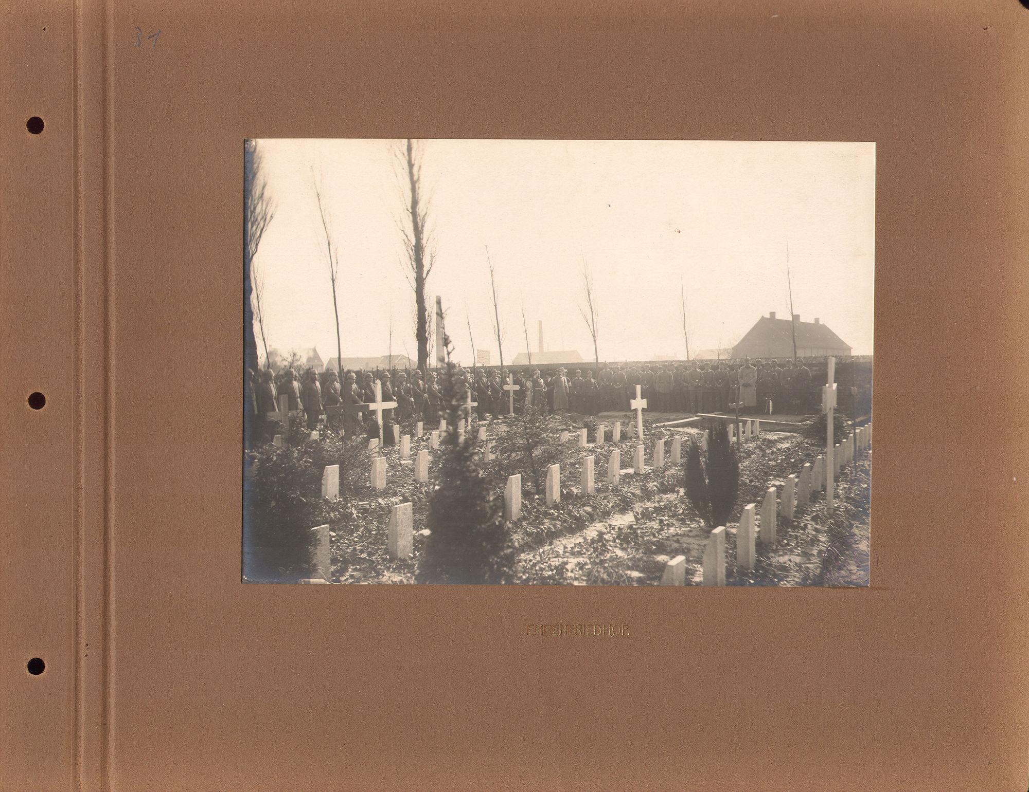 Sint-Janskerkhof tijdens Wereldoorlog I