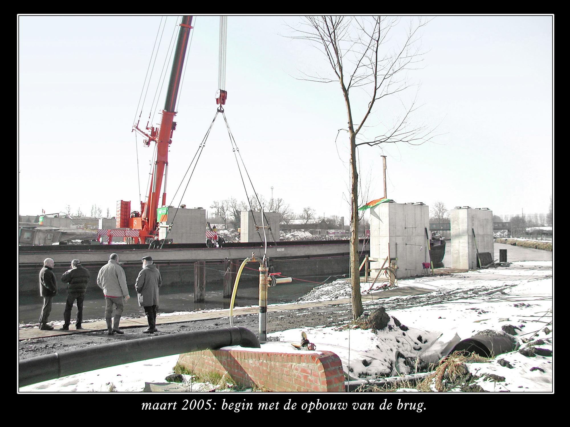 Ronde van Vlaanderen brug
