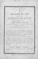 Dominicus De Witte