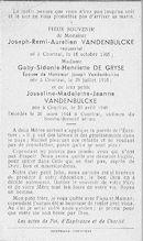 Joseph-Remi-Aurelien Vandenbulcke