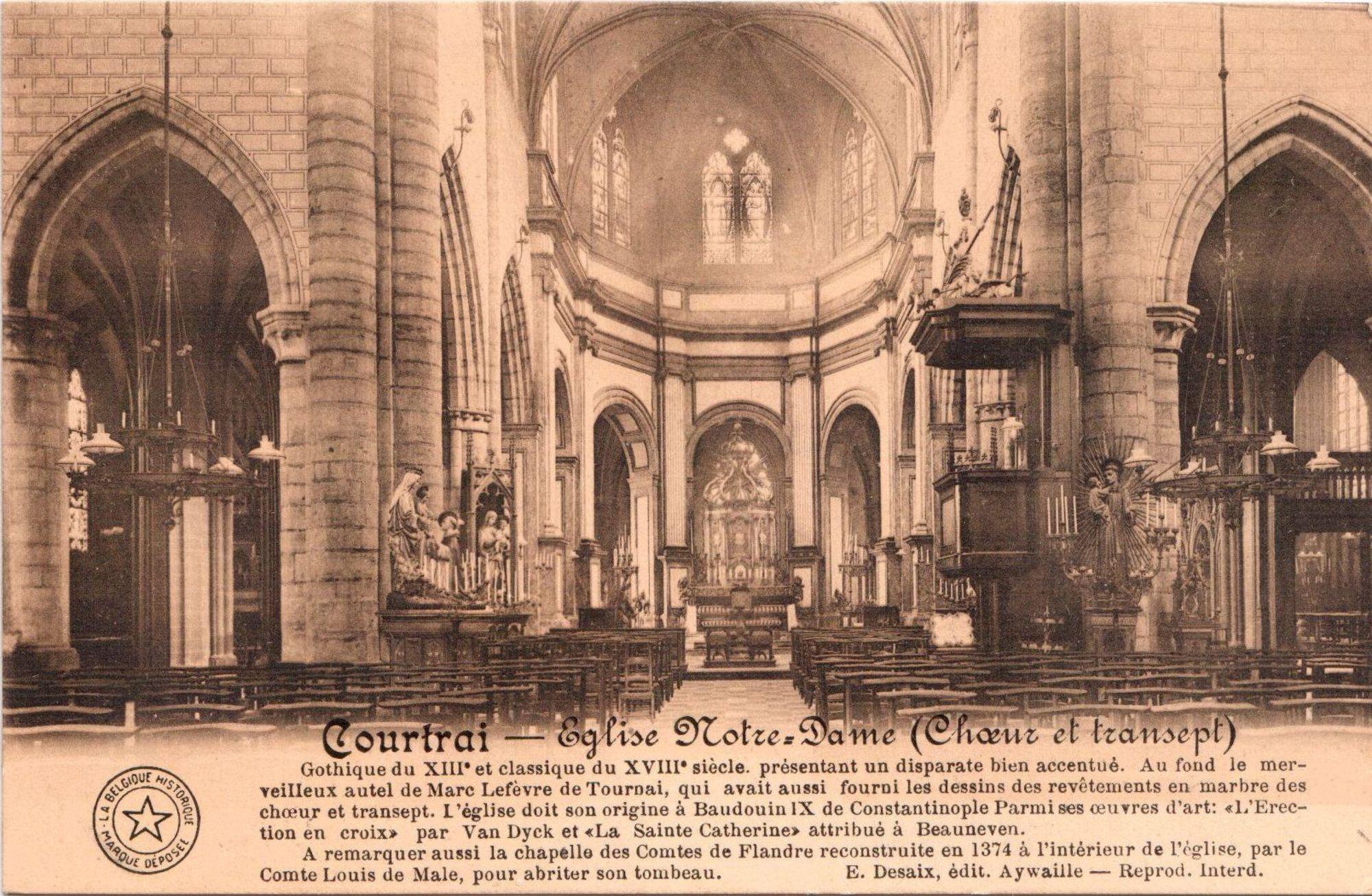 Interieur Onze-Lieve-Vrouwekerk