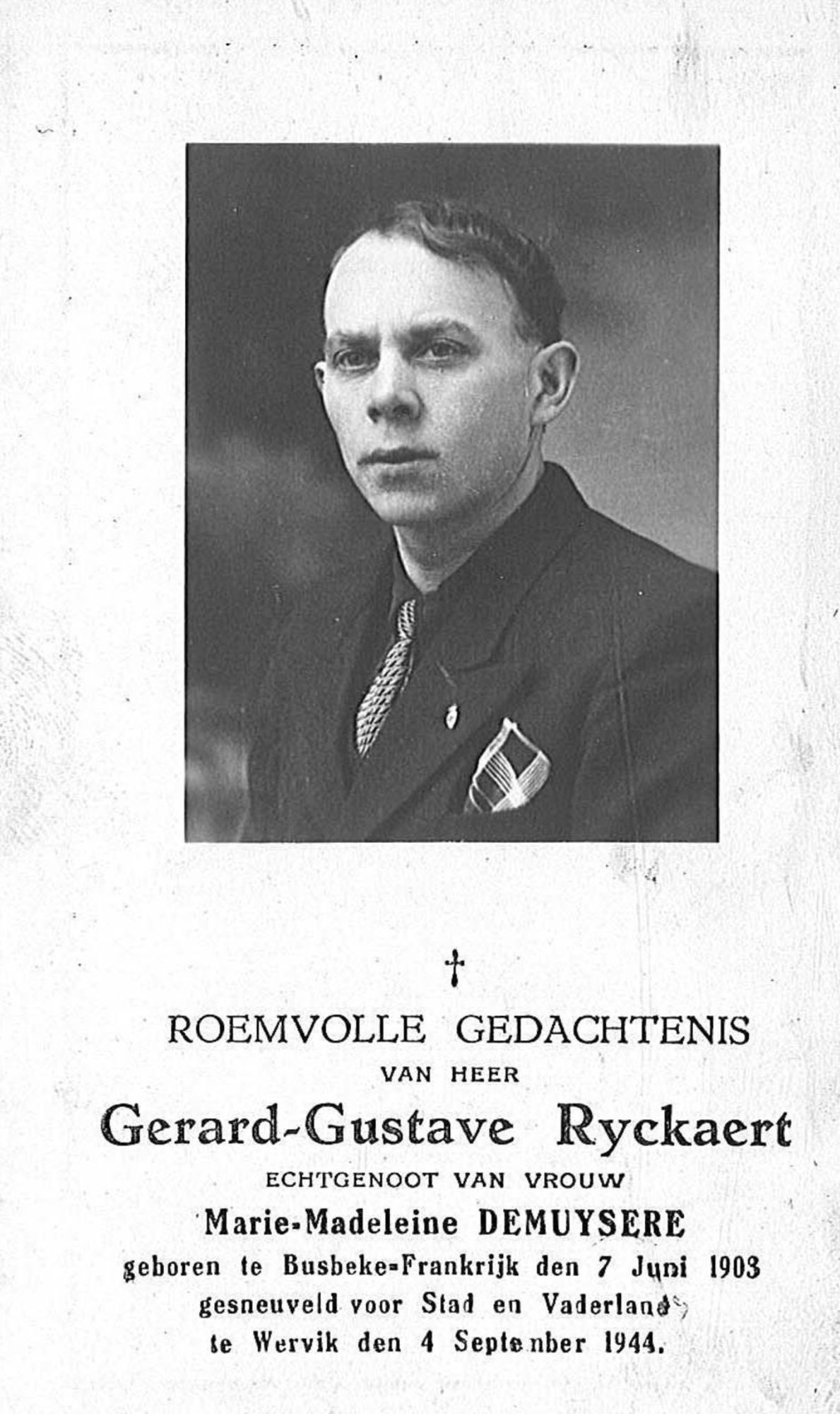 Gerard-Gustave Ryckaert