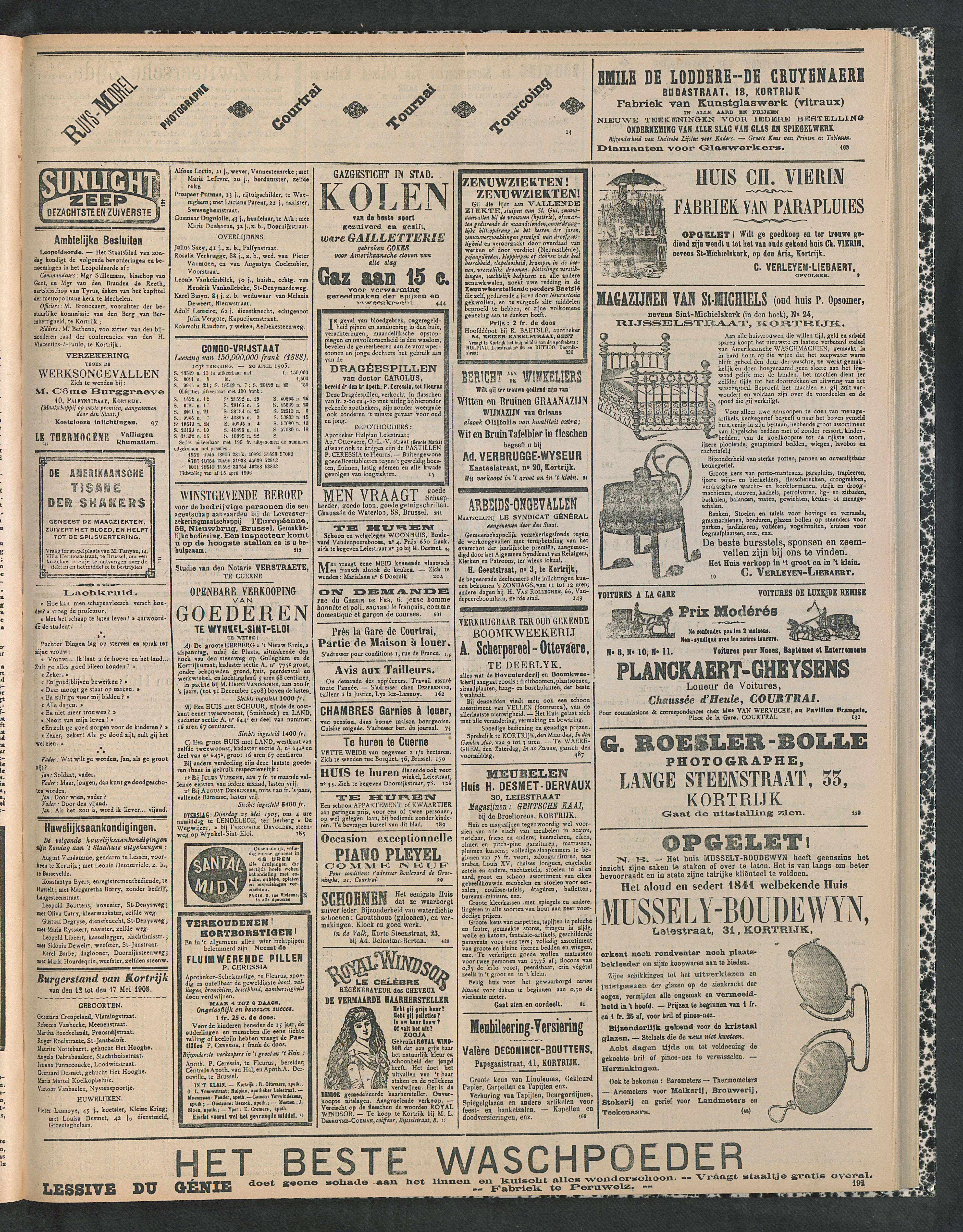 Gazette Van Kortrijk 1905-05-18 p3
