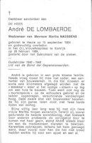 André de Lombaerde