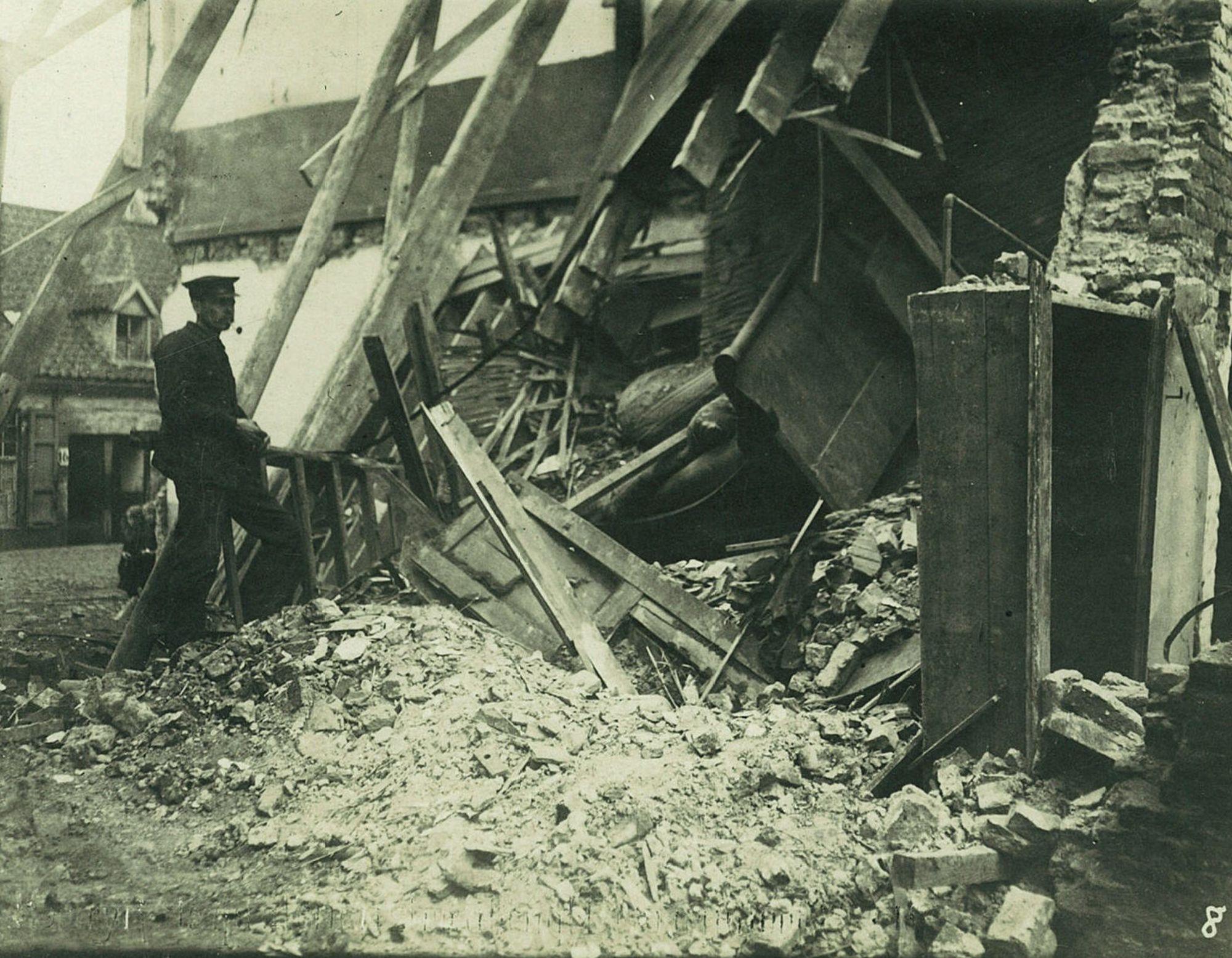 Magdalenastraat in 1918