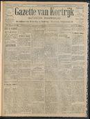 Gazette Van Kortrijk 1908-12-03 p1