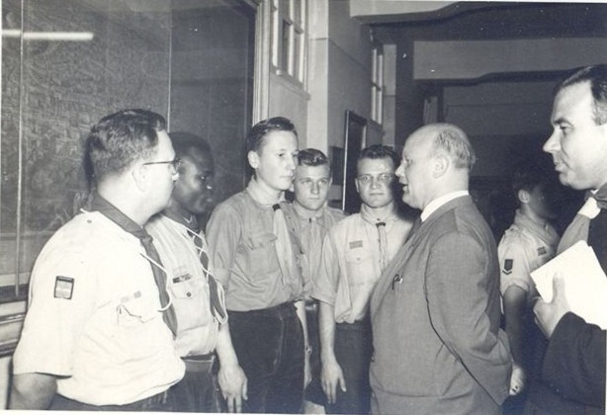Scouts Gulden Vlies 1957