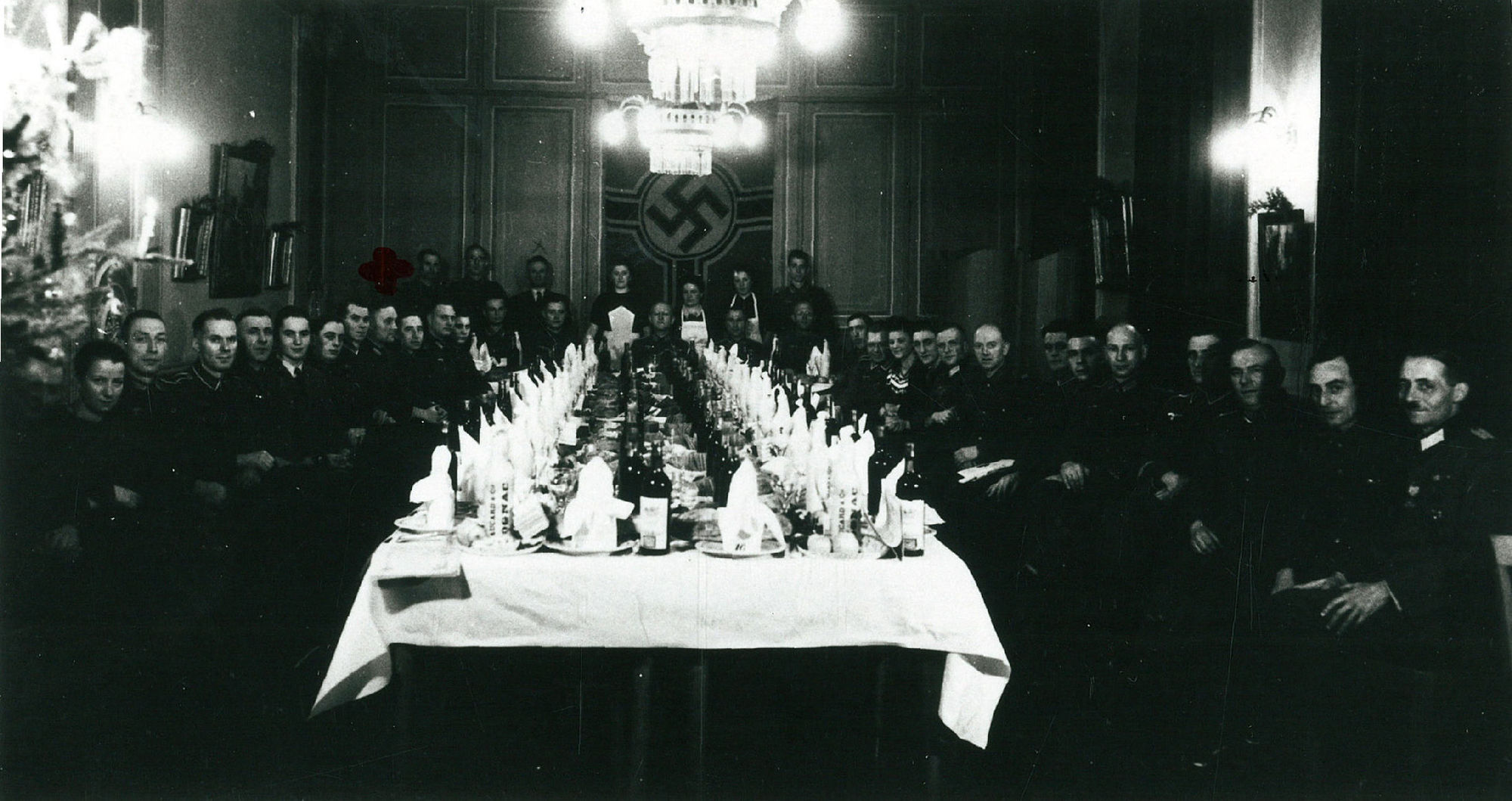 Duitsers vieren Kerstnacht 1942