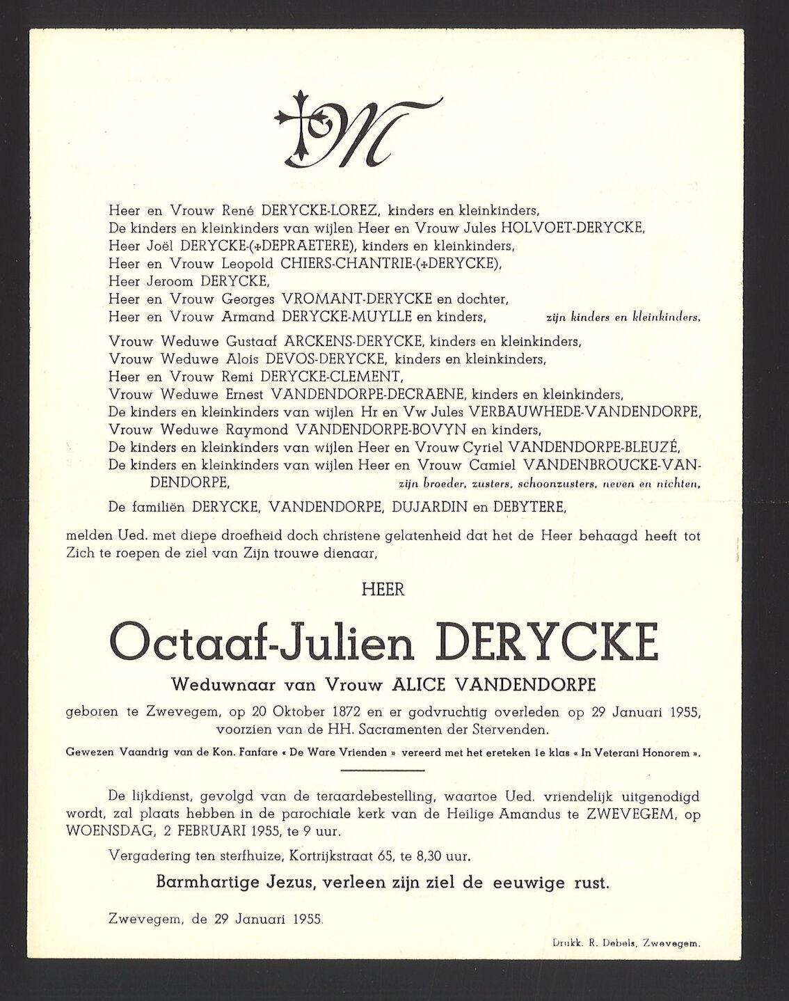 Octaaf-Julien Derycke