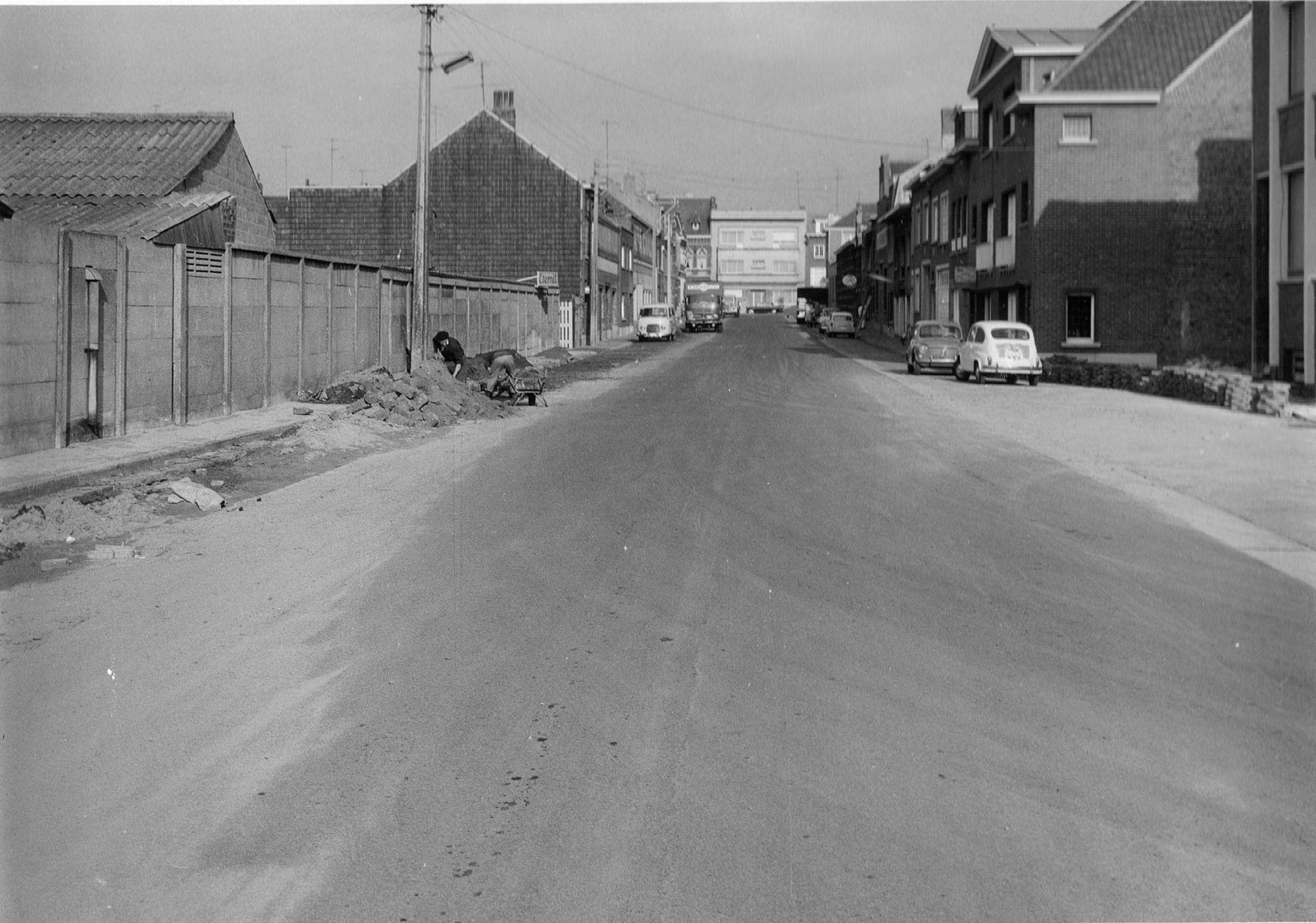 Meersstraat in september 1964