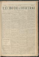 L'echo De Courtrai 1893-04-20