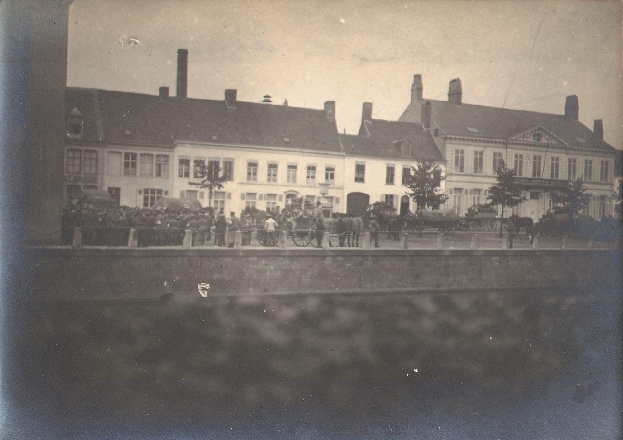 Het  Rode Kruis gedurende de Eerste Wereldoorlog.