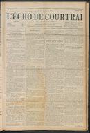 L'echo De Courtrai 1911-10-26 p1