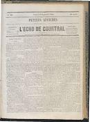 L'echo De Courtrai 1864-09-09 p1