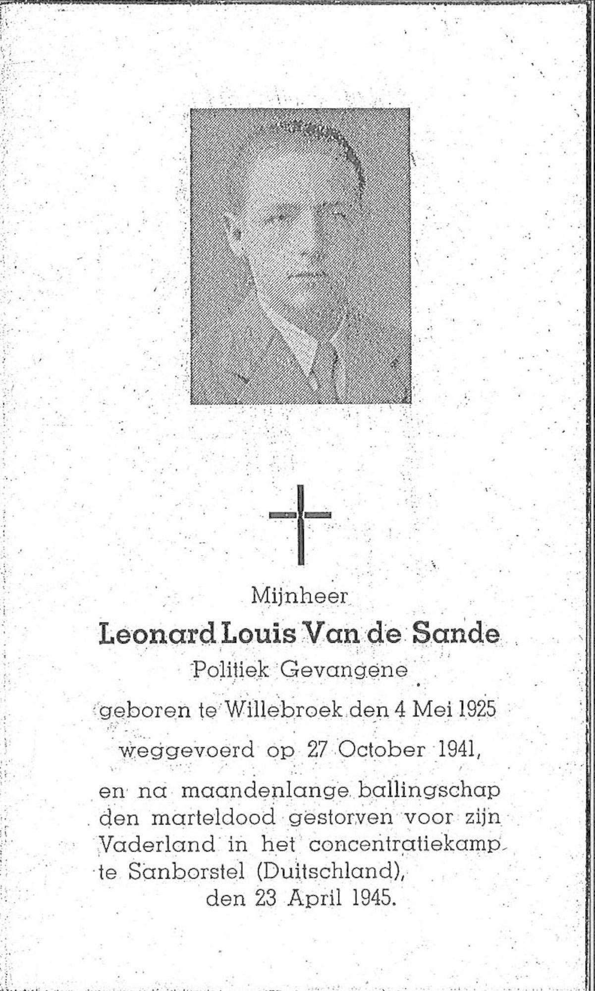Leonard-Louis Van de Sande