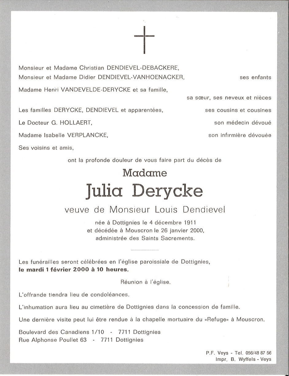 Julia Derycke