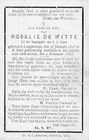 Rosalie De Witte