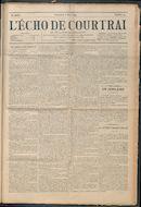 L'echo De Courtrai 1914-03-08