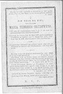 Maria Theresia Baudewyns