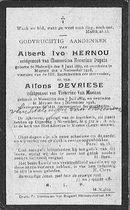 Albert Ivo Hernou en Alfons Devriese