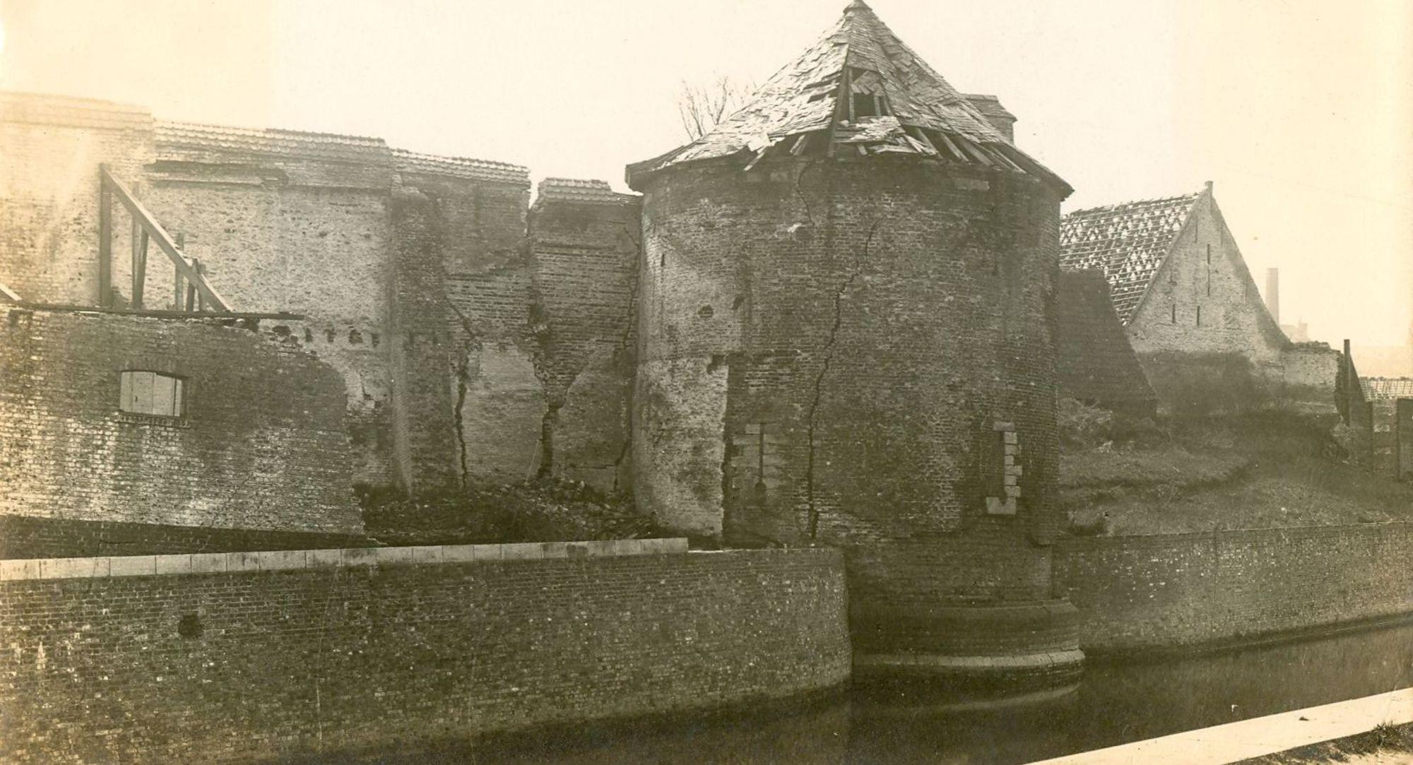 Vernielingen tijdens Wereldoorlog I