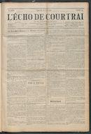 L'echo De Courtrai 1914-04-26