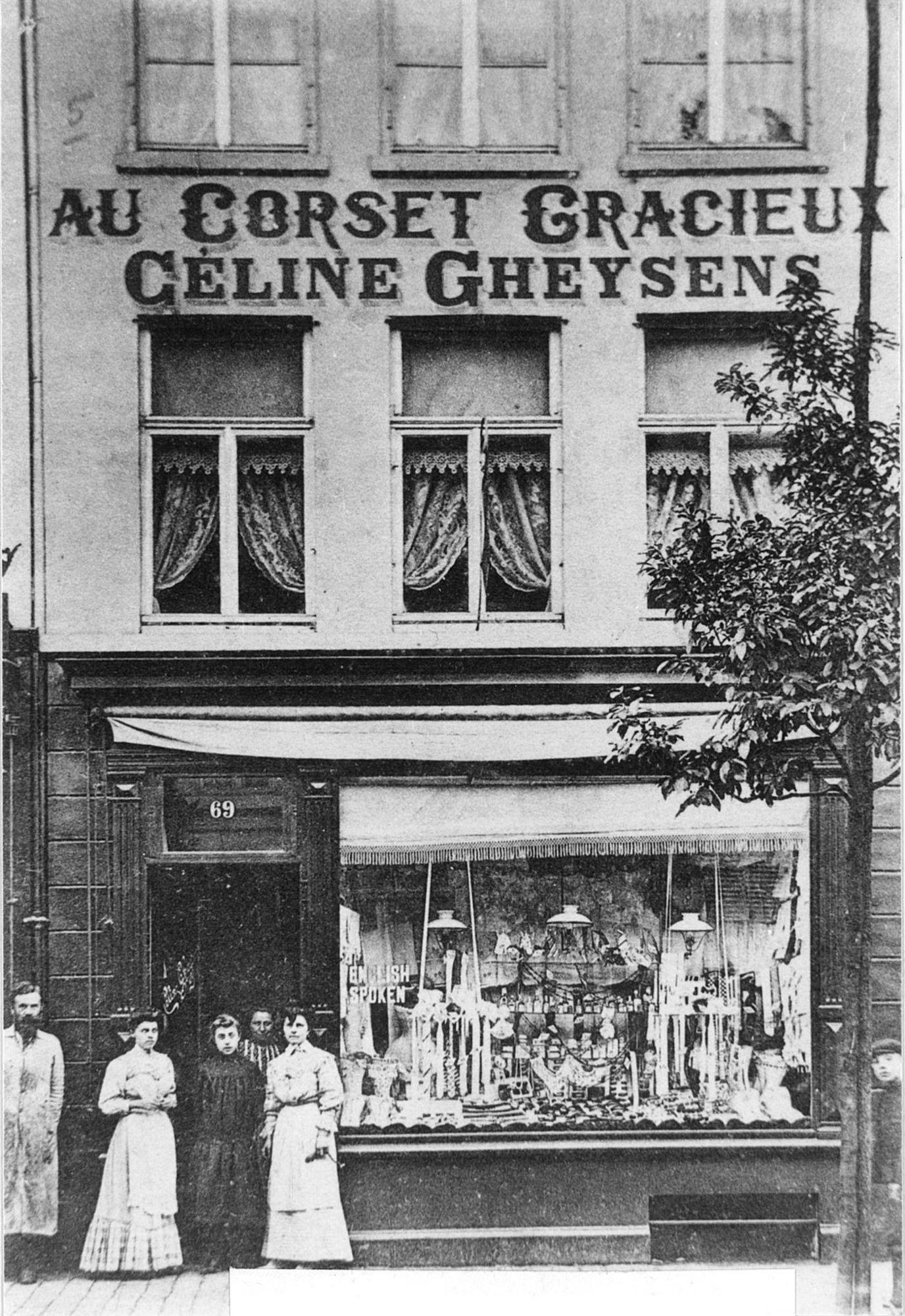 Lingeriewinkel Céline Gheysens in de Doorniksestraat