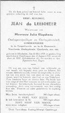 Jean de Leenheer