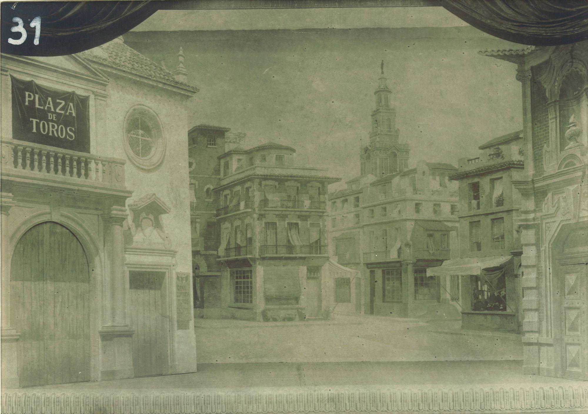 Place publique italo-espagnole