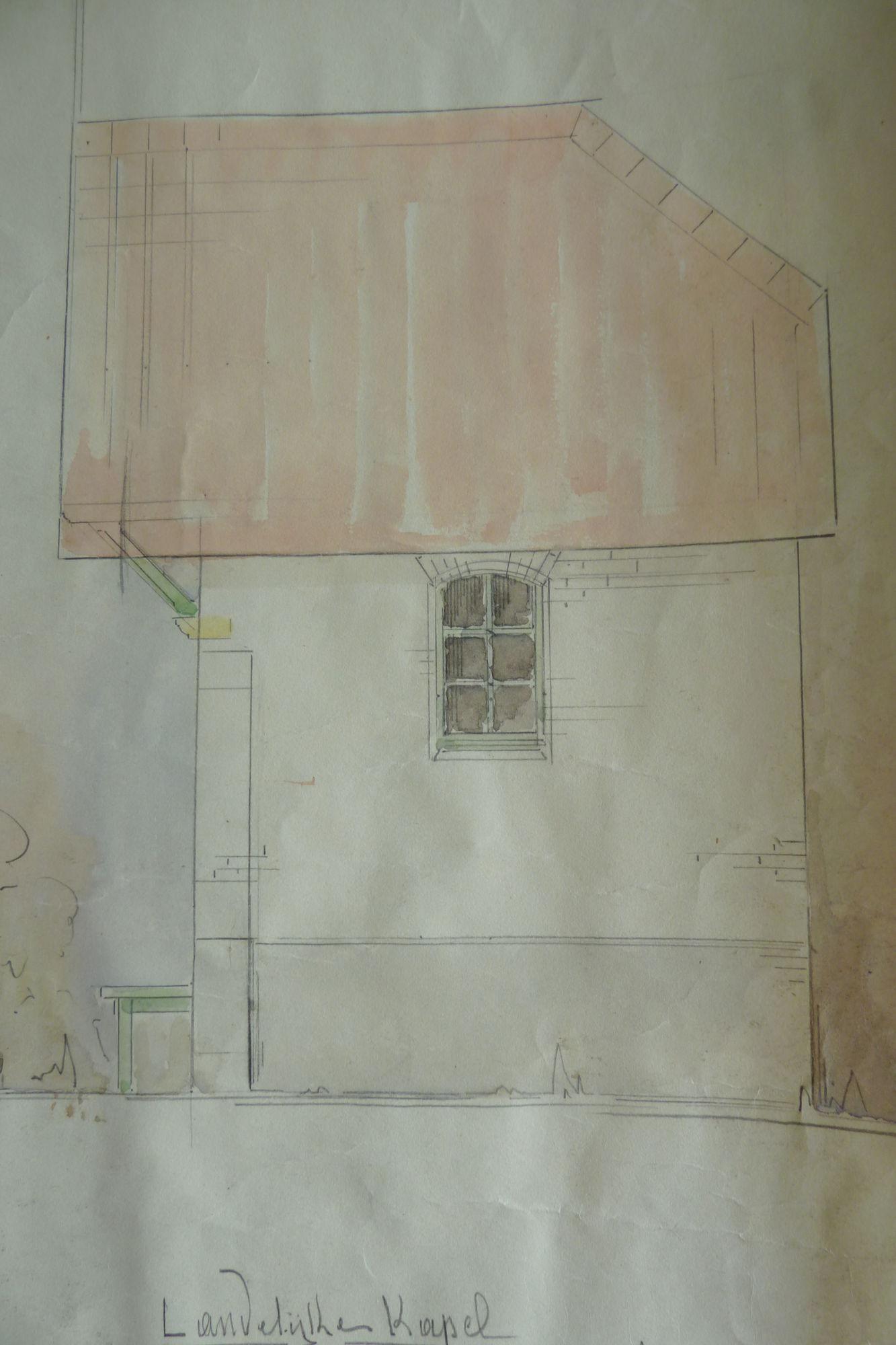 Bomkapel aan het Rootershof 1942