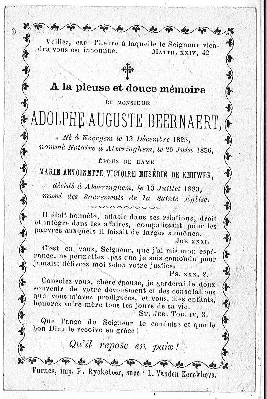 Adolphe Auguste Beernaert