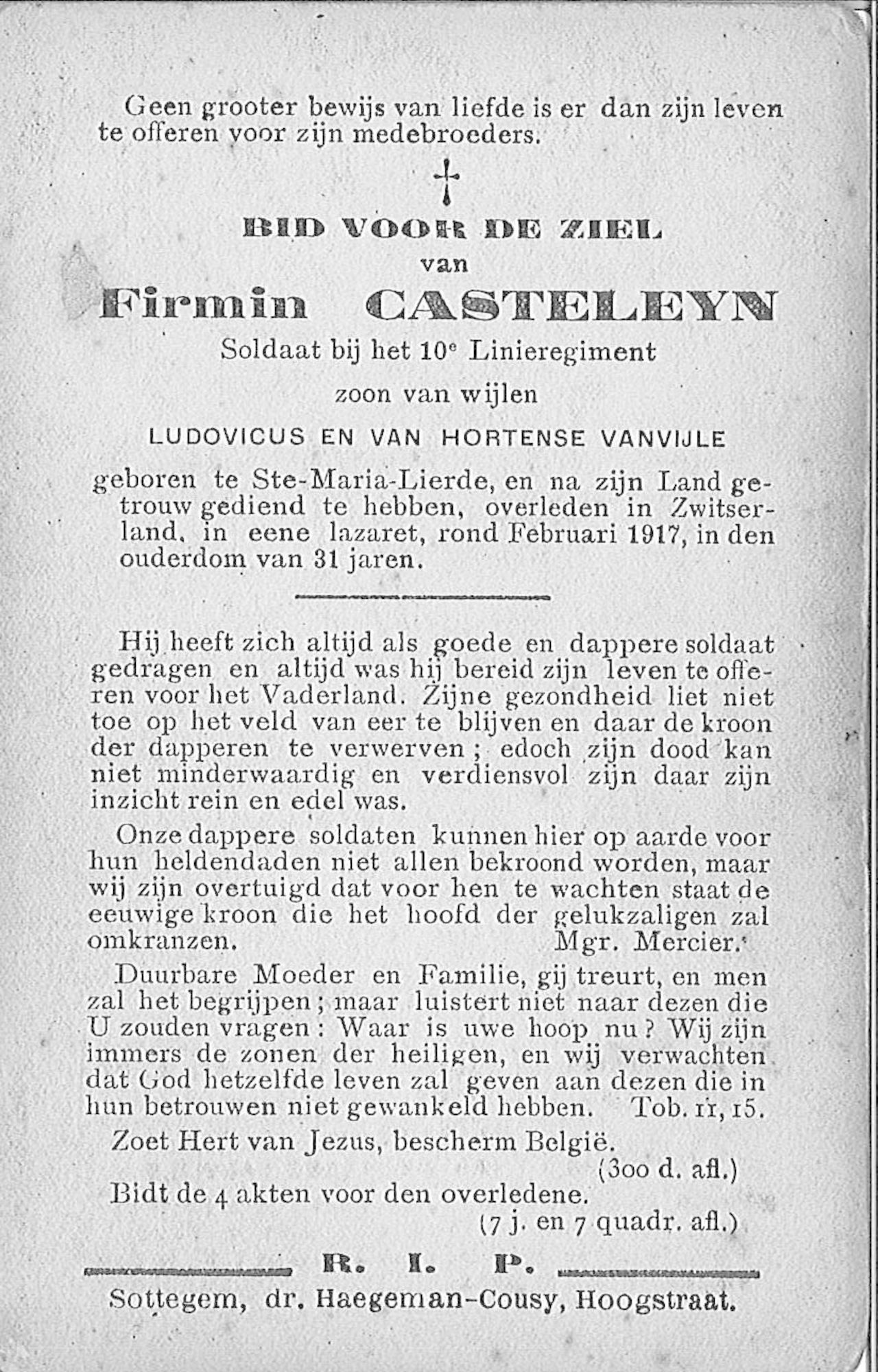 Firmin Casteleyn