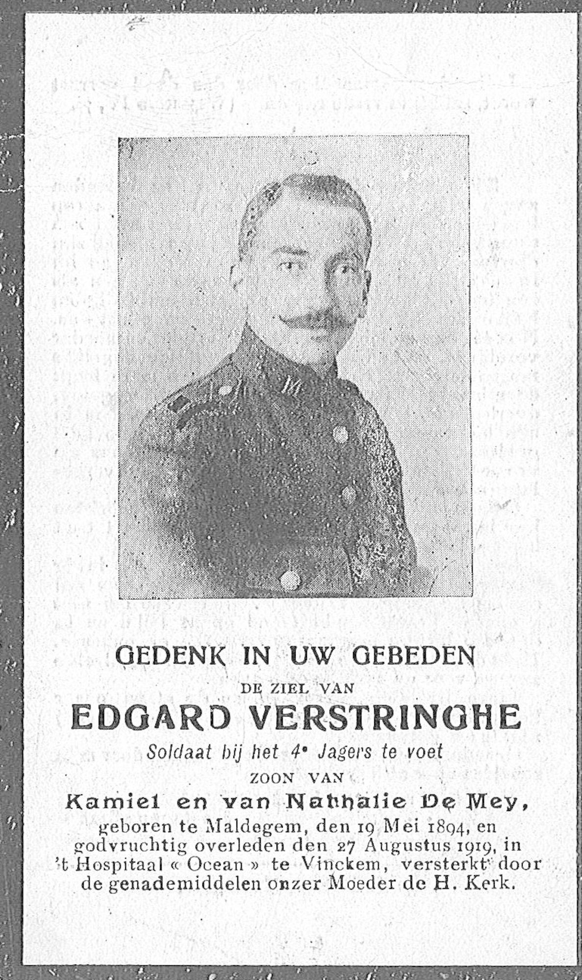 Edgard Verstringhe