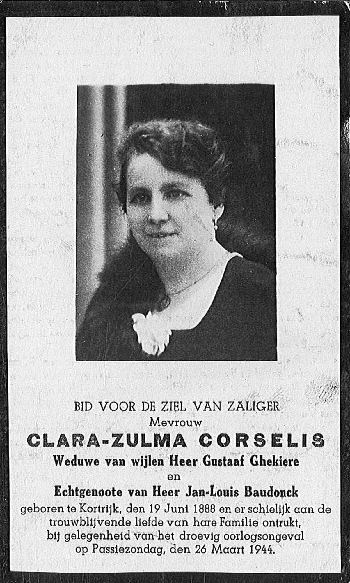 Clara-Zulma Corselis
