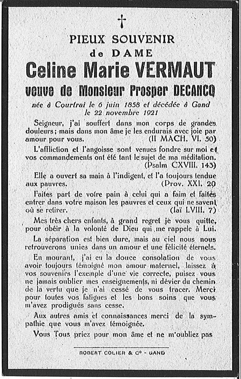 Celine-Marie Vermaut