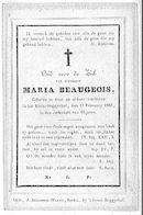 Maria Beaugeois