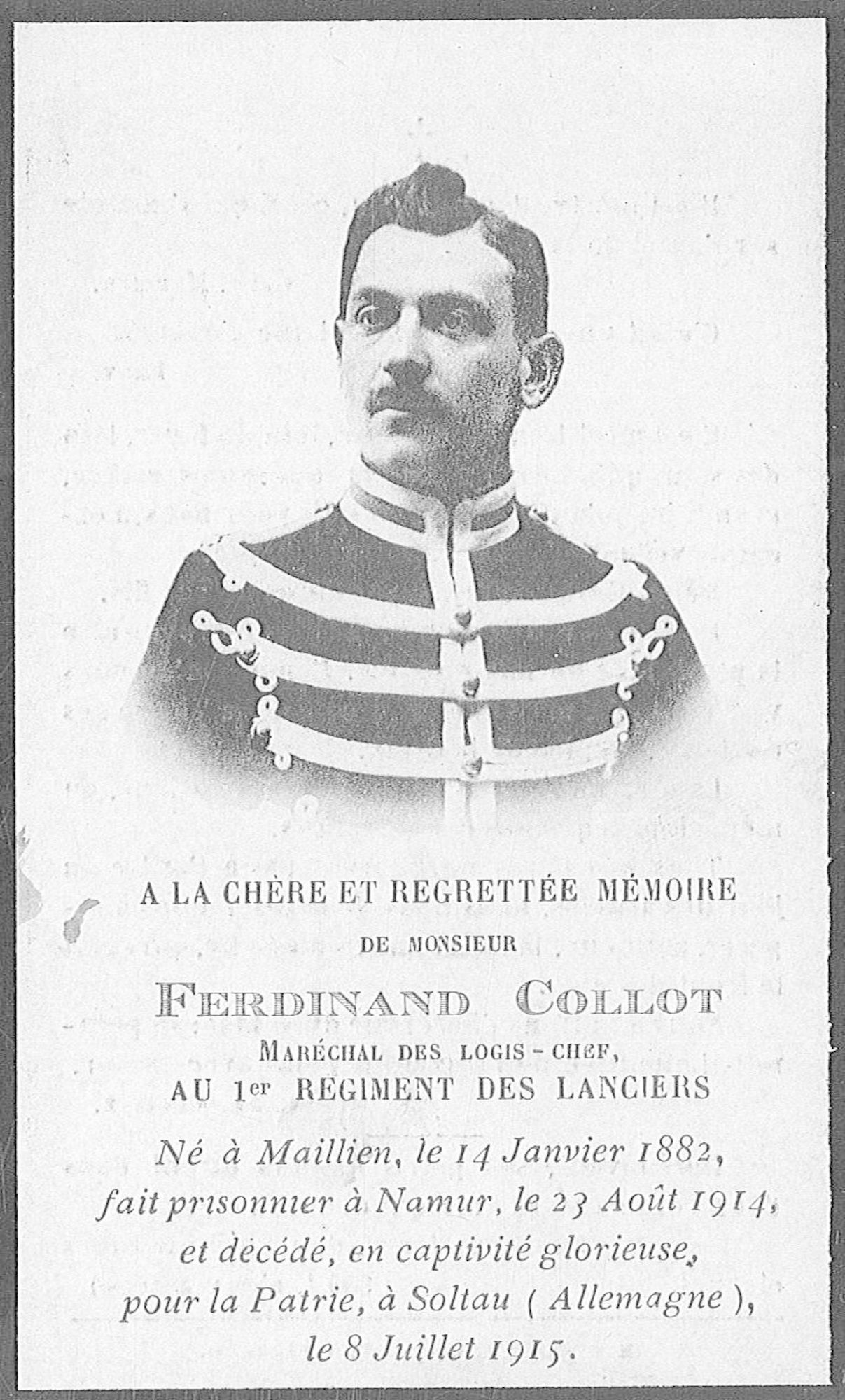 Collot Ferdinand