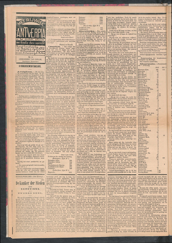 De Stad Kortrijk 1911-10-28 p2