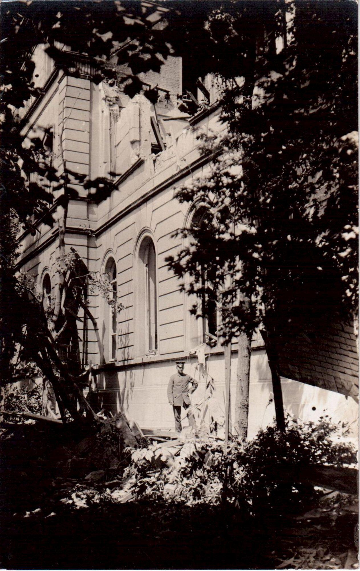 Gerechtsgebouw in 1917
