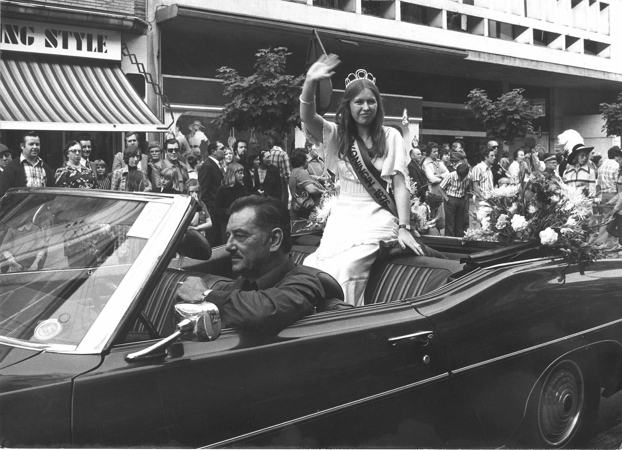 Verkiezing Fruitkoningin 1976