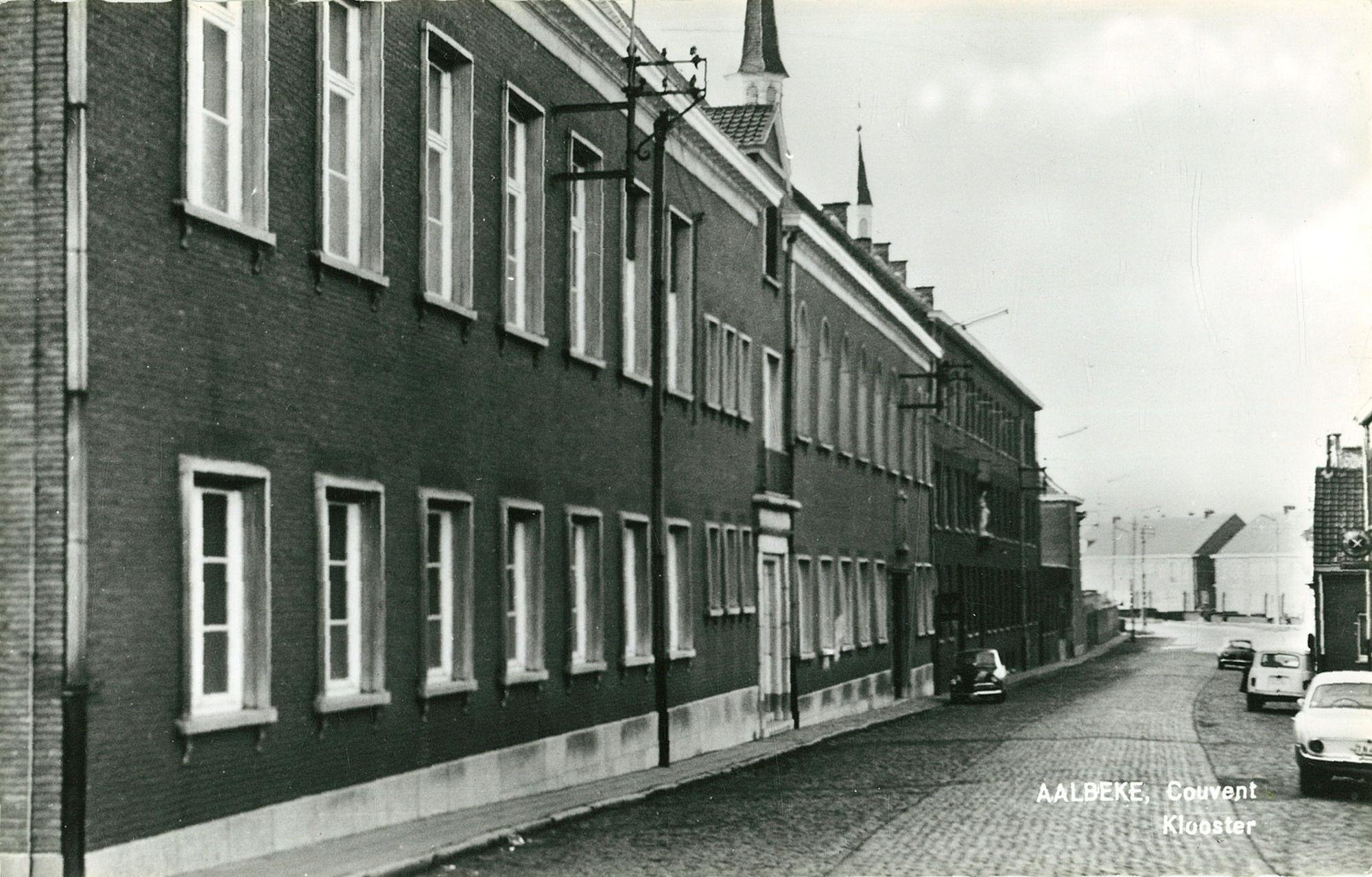 Klooster in Aalbeke