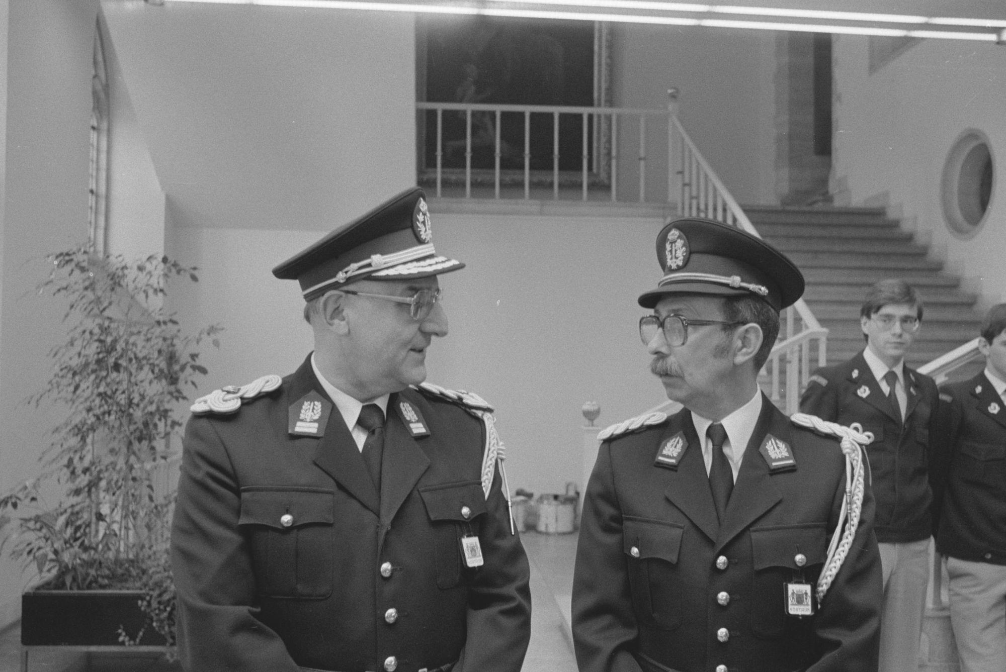 Eervolle onderscheidingen van de politie