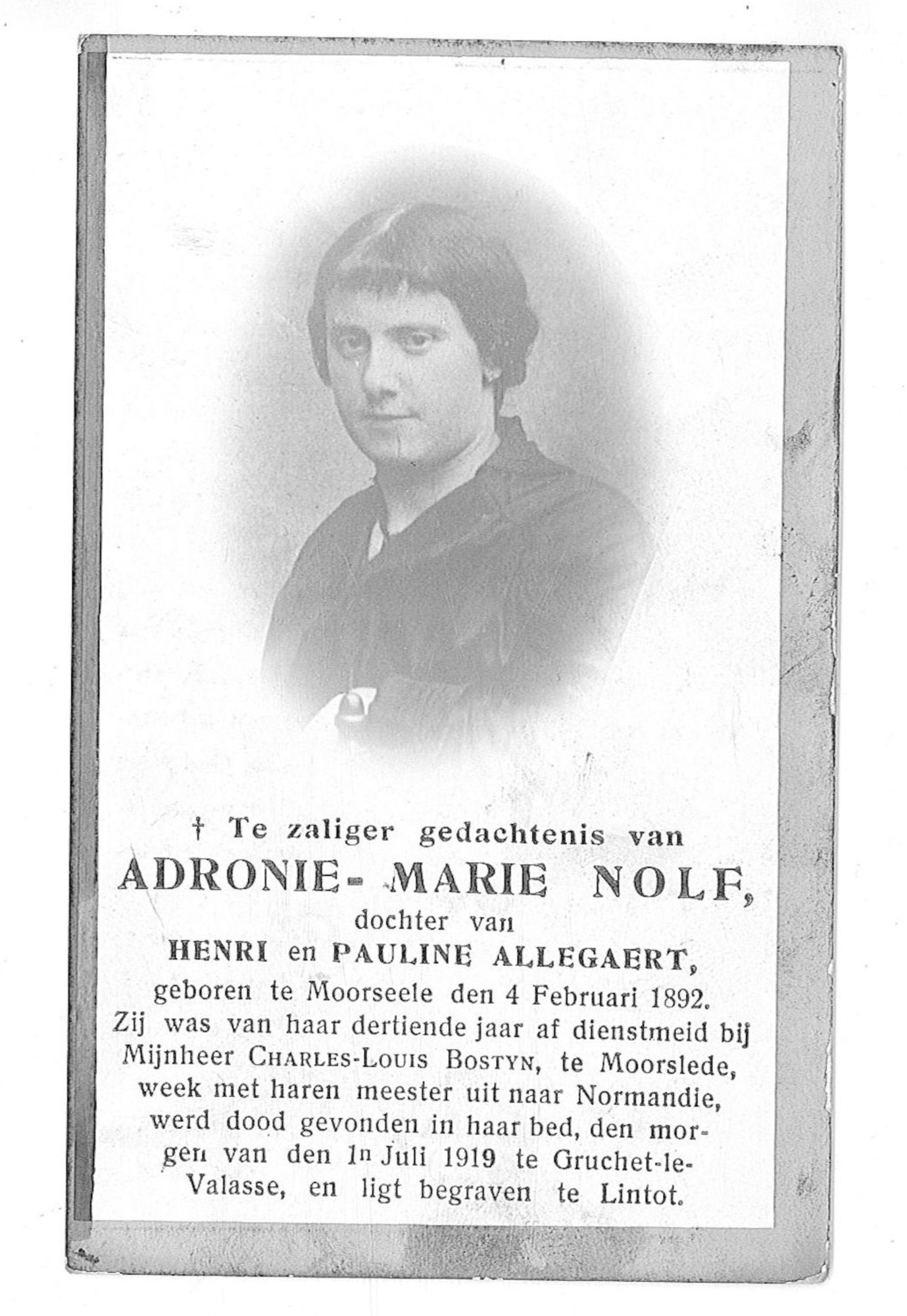 Adrone-Marie Nolf