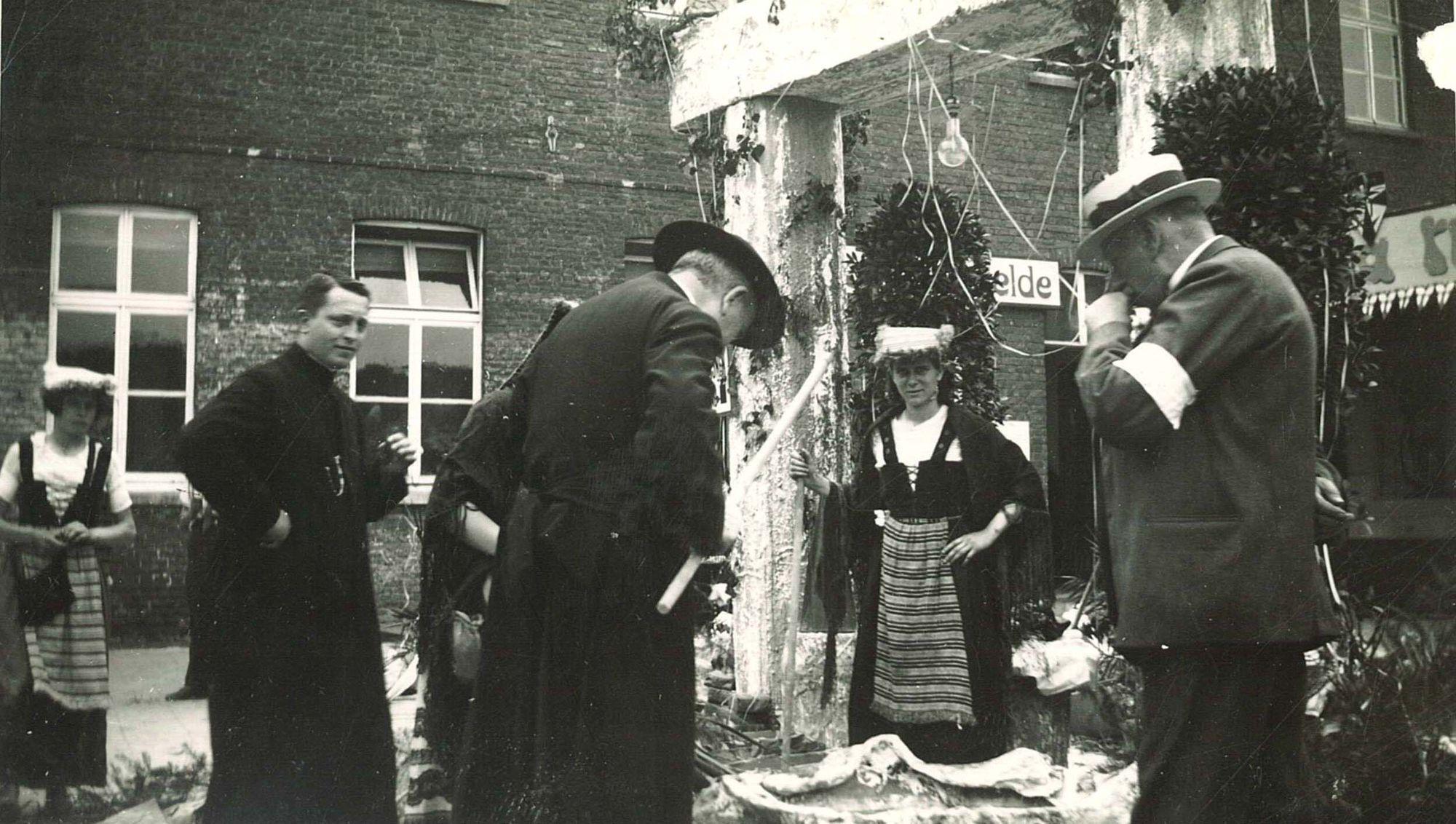 Vlaamse kermis in de Broederschool Overleie