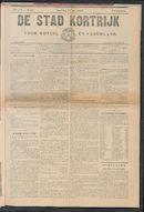 De Stad Kortrijk 1905-05-27