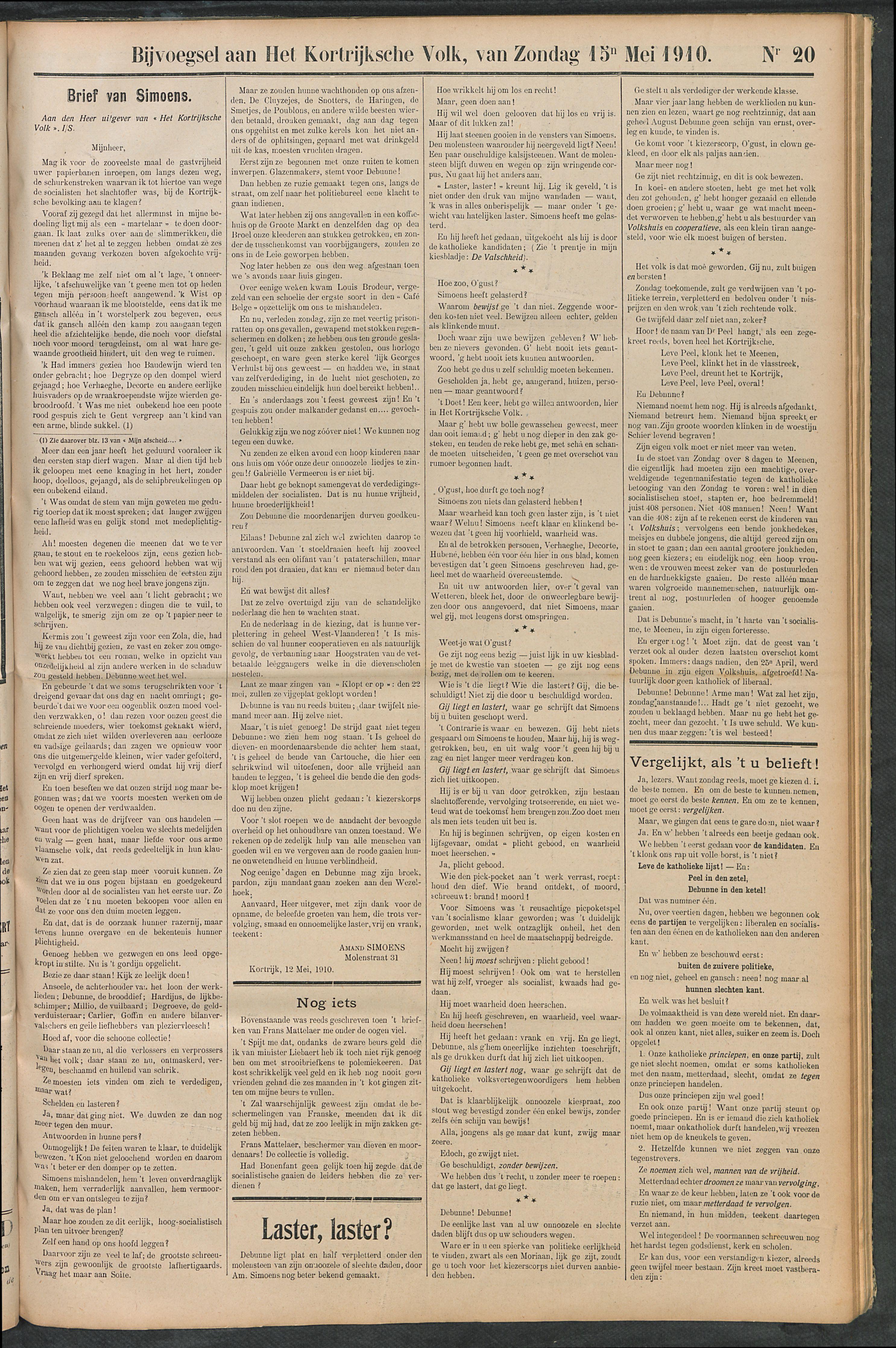 Het Kortrijksche Volk 1910-05-15 p5