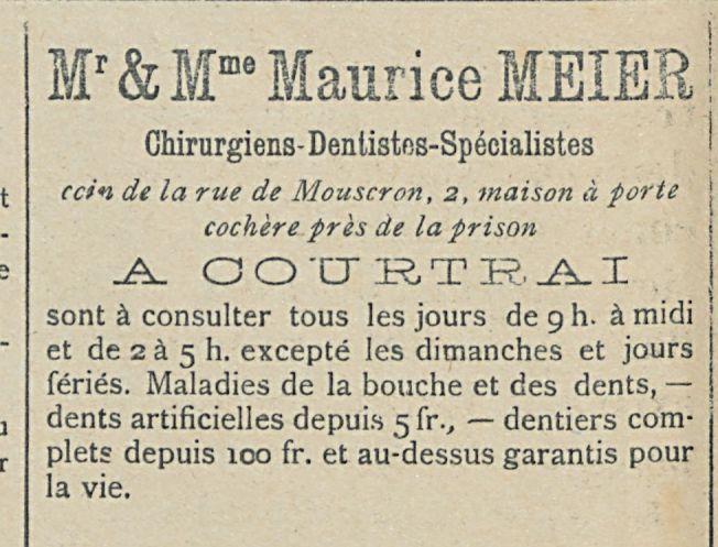 """Mr & M""""' Maurice MEIER"""