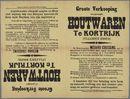 Verkoop van houtwaren 1902