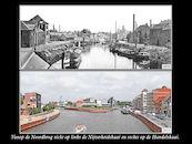 Nijverheidskaai en Handelskaai in 1899 en in 2013
